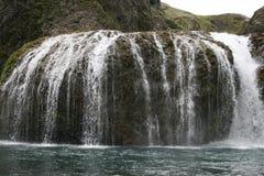 Водопад Stjornarfoss стоковое фото rf