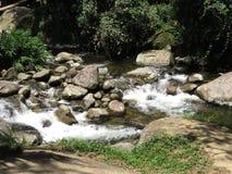Водопад Tobogã - Paraty RJ Стоковая Фотография RF