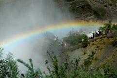 Водопад Tortum, Erzurum, Турция Стоковое Изображение