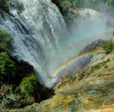 Водопад Tortum, Erzurum, Турция Стоковые Изображения