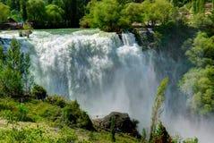Водопад Tortum, Erzurum, Турция Стоковая Фотография