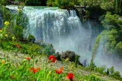 Водопад Tortum, Erzurum, Турция Стоковые Изображения RF