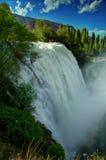 Водопад Tortum, Erzurum, Турция Стоковые Фото