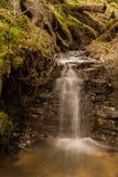 Водопад Trejrumbina в Латвии Стоковое Фото