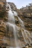 Водопад Uchan Su в Крыме Стоковая Фотография