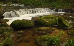 Водопад Valgales в Латвии Стоковая Фотография