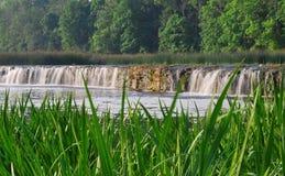 Водопад Venta в Kuldiga Стоковые Изображения RF