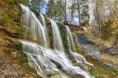 Водопад Weissbach стоковые фотографии rf