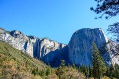 Водопад Yosemite красивый Стоковые Фото