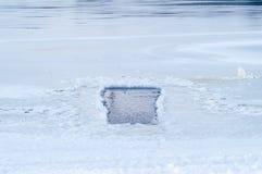 Водопой снега Стоковые Изображения RF