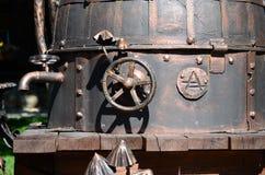 Водопроводный кран в самогоне Стоковое Изображение