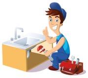 Водопроводчик бесплатная иллюстрация