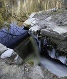 Водосброс в ручейке разрушения Стоковая Фотография