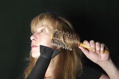 волосы вводя женщину в моду Стоковая Фотография RF