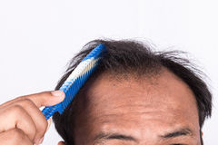 Волосы выставки молодых человеков стоковое фото