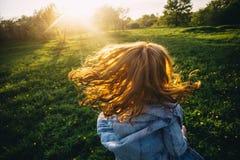 Волосы в солнце Стоковая Фотография RF