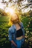 Волосы в солнце Стоковое фото RF