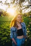Волосы в солнце Стоковые Изображения RF