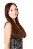 волосы девушки длинние Стоковое Изображение RF