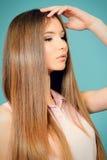 волосы естественные Стоковая Фотография RF
