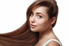 волосы длиной Стоковые Изображения RF