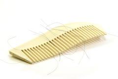 Волосы потери с щеткой Стоковые Фото