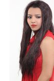 Волосы причесок женщин искусственные Стоковая Фотография