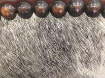 Волосы ткани, лошади и латунные тэксы Стоковые Фотографии RF