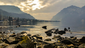 Водоходные высокогорные озера Стоковая Фотография RF