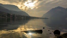 Водоходные высокогорные озера Стоковая Фотография