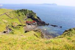 Водолазы женщин - остров Jeju Стоковое Изображение
