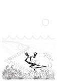 водолаз бесплатная иллюстрация