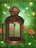 Волшебная лампа бесплатная иллюстрация