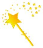 волшебная белизна палочки 3d Стоковая Фотография