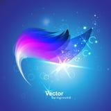 Волшебная волна с влияниями иллюстрация вектора