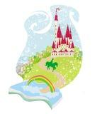Волшебная книга с красивой сказкой Стоковая Фотография