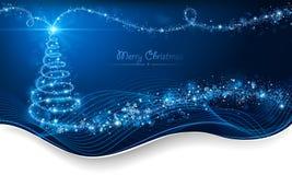 Волшебная рождественская елка Стоковое Изображение