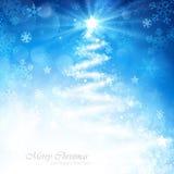 Волшебная рождественская елка Стоковое фото RF