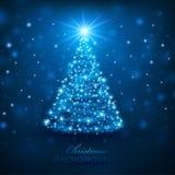 Волшебная рождественская елка Стоковое Фото