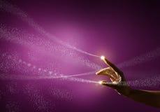 Волшебная рука Стоковые Изображения