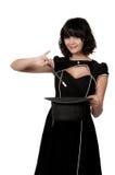 Волшебник женщины стоковое изображение rf