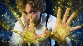 Волшебник мальчика Стоковая Фотография RF