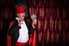 Волшебник хрустального шара Стоковые Изображения RF