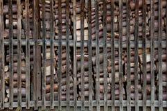 Волшебное деревянное здание Стоковое Фото