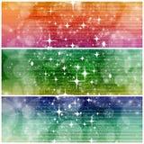 Волшебные знамена Стоковые Изображения