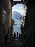 Волшебные итальянские улицы Стоковое фото RF