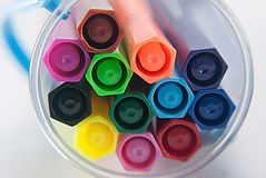 Волшебные ручки цвета Стоковая Фотография RF