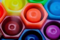 Волшебные ручки цвета Стоковое Изображение