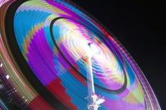 Волшебные цвета в ноче Стоковое Изображение