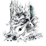 Волшебный лес - 1 Стоковое Изображение